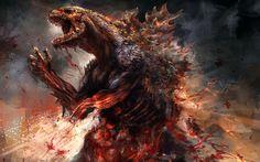 Godzilla 2014 Concept Artwork Wallpaper http://beyondhdwallpapers.com/godzilla-2014-concept-artwork-wallpaper/ #Movies #Wallpapers #HD #Godzilla #2014 #Concept #Artwork #HighDefinition #Backgrounds