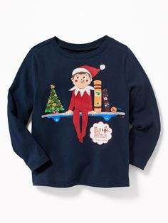 The Elf on the Shelf Graphic Tees, at Old Navy   Christmas Kids Shirts   Children's Winter Clothes   Elf on the Shelf Ideas