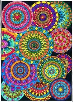 Collection of circles,fun shapes and geometric patterns,adult Free Adult Coloring Pages, Coloring Book Pages, Printable Coloring Pages, Coloring Sheets, Geometric Patterns, Doodle Coloring, Mandala Coloring, Mandala Art, Circle Doodles
