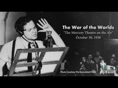 """""""War of the Worlds"""" 1938 Radio Broadcast - On Halloween eve in 1938, the power of radio was on full display when a dramatization of the science-fiction novel """"The War of the Worlds"""" scared the daylights out of many of CBS radio's nighttime listeners."""
