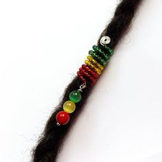 Rastafari Loc Cuff Wire Loc Cuff Dread Cuff Coil by IvoStyleLine