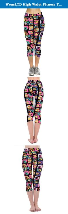 """WensLTD High Waist Fitness Yoga Sport Pants Printed Stretch Cropped Leggings (L, C). Gender:Women Item Type:Cropped Trousers,Yoga Fit Type:Straight Waist Type:High Fabric Type:Printing Thickness:Standard Pant Style:Pants, Tights, Leggings Pattern Type:3D / three-dimensional pattern Front Style:Flat Style:Casual Sport: Yoga/Jogging Material:spandex Package include:1*Women shorts(Not including vest) Size:S Waist:62-78CM/24.4""""-30.7"""" Hips:78-98CM/30.7""""-38.6"""" Hem:28-33CM/11.0""""-13.0""""..."""