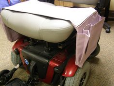 Wheelchair Organizer Bag for Electric Wheelchair or Scooter Pale Lavender. $39.99, via Etsy.