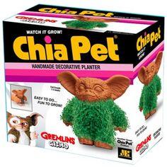 Chia Pet Gremlins Gizmo Handmade Pottery Planter Terracotta f29adb7d5979b