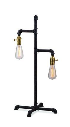 Bassett Mirror Telestar Table Lamp - KD [L2597TEC]                                                                                                                                                                                 Plus