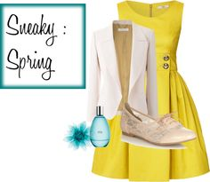 """""""Spring - sneaky"""" by cherry1x ❤ liked on Polyvore"""