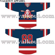 4db5f550b Design Custom Ice   Field Hockey Team Jerseys For USA And Canada