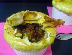Meat pie sweet & sour with Onion Sauce Lazzaris