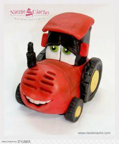 Traktorek, traktor, torty dla dzieci, tort urodzinowy, torty bajkowe