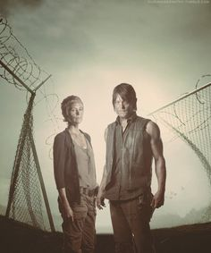thewalkingdeadthings: Carol and Daryl
