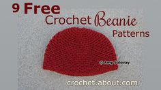 Crochet Stylish Beanies with These Free Patterns: