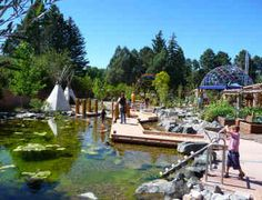 Cheyenne Botanic Gardens and Children's Village - Totally FREE and closer than driving all the way into Denver. Beautiful gardens and a great village for the kids to explore and interact with.