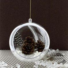 DIY Deco fácil: Bola colgante para una Navidad mágica