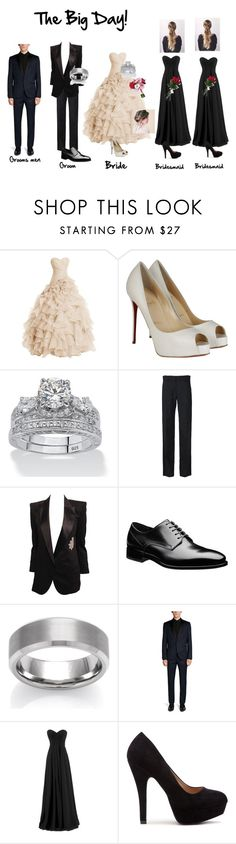 Wedding By T Lau23 On Polyvore Featuring Louboutin Palm Beach Jewelry