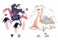 Pokemon Tumblr, Pokemon Mix, Pokemon Fusion Art, Pokemon Memes, Pokemon Cards, Cute Animal Drawings, Cute Drawings, Pokemon Breeds, Cute Pokemon Pictures