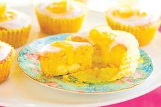 Lemon honey and ricotta cupcakes