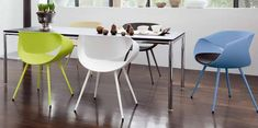 The Curved Chair Design of the Perillo is Swirled and Sculptural #backyard trendhunter.com