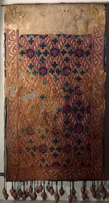 Saddle Cloth    Pazyryk Culture, 5th-4th century BC    The Hermitage Museum