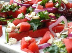 Incredible Watermelon Salad