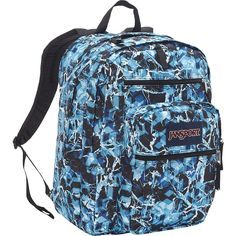 JanSport Big Student Classics Series Backpack - Multi Blue Ice => Check out this great image  : Backpacking backpack