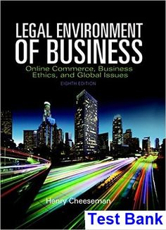 54 best business ethics images on pinterest business ethics legal environment of business online commerce ethics and global issues 8th edition cheeseman test bank fandeluxe Images