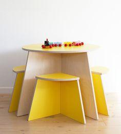 small-design CIRKEL in sunny yellow