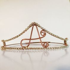Initial Crown  Monogram accessories  by TheUnicornsPrincess