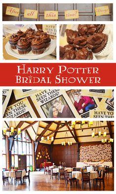 harry potter bridal shower- so friggin cute!