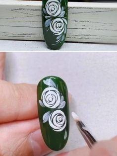 Acrylic Nail Designs Classy, Bright Nail Designs, Creative Nail Designs, Beauty Hacks Nails, Nail Art Hacks, Gel Nail Art, Nail Art Designs Videos, Nail Art Videos, Brown Nail Art