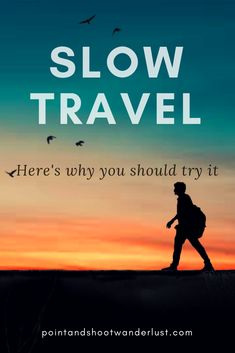 Have you tried slow travel? Read why I'm urging you to try traveling slowly at least once in your life, in this fast-paced world. Travel Hack, Slow Travel, Travel Advice, Travel Usa, Travel Guides, Travel Tips, Travel Abroad, Travel Goals, Travel Europe