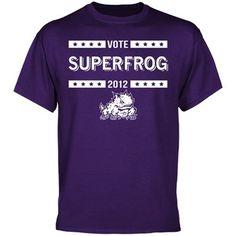 TCU Horned Frogs 2012 Vote T-Shirt - Purple