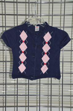 GYMBOREE Girls' Dark Blue Ruffled Collar Jacket Size XS 3/4 100% Cotton On Sale #Gymboree #BasicJacket #Everyday