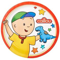 Caillou Dinner Plates (8) $4.20