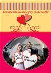 DIY Wedding Congratulations Cards