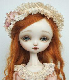 Julie Pink - Porcelain ball jointed doll BJD