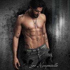 Joe Manganiello Yummy. In my dreams…