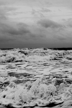the waves crash & fall.