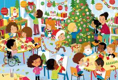 """Coralie Vallageas... le blog !: Puzzles """"Les fêtes de l'école"""""""