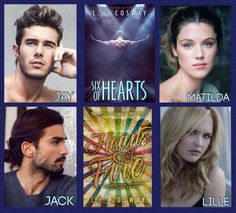 Hearts series - By L.H. Cosway
