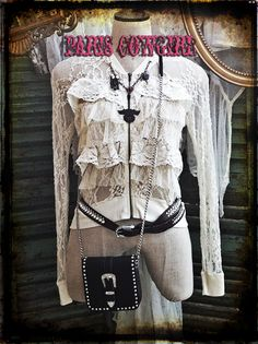 """Joining our show once again is Sylvia with Her sweet n spicy """"Paris Cowgirl"""" style! She brings everything from fashion and jewelry to vintage home decor and accessories! www.pariscowgirl.com"""