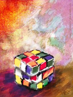 Rubik's Cubes by Ricardo Doi, via Behance