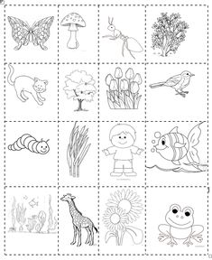 Esseri viventi e non viventi, classe prima – Maestra Mihaela Alphabet Activities, New Years Eve Party, Coloring Pages, Kindergarten, Indiana, Science, Education, School, Botany