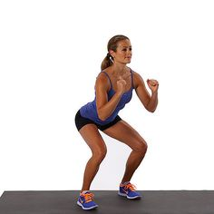 Take Our Squat Circuit Challenge! 30 Days to 200 Squats: Squat challenges are all the rage now, and while it certainly is an accomplishment to work your way up to 200, 500, or even 1,000 squats (yikes!), doing the same kind only works certain muscles.