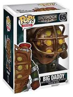 "Funko - POP Games - Bioshock - Big Daddy 6"""
