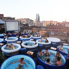 Everyone loves hot tubs. Everyone loves movies. Why not combine them? Learn more at Radisson Red's blog.