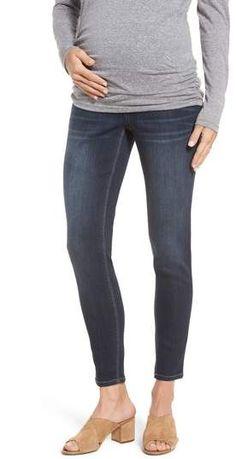 1822 Denim Maternity Ankle Skinny Jeans #ad