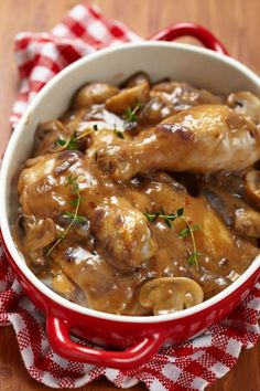 best ever chicken mushrooms