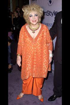 Elizabeth Taylor as she got older. Unbelievable