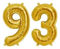 Image Result For 93 Number Balloons Birthday Girls Watch