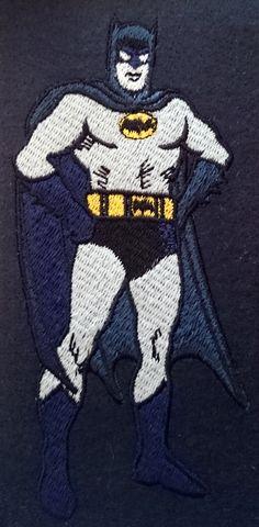Machine Embroidery Design - Batman